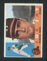 1960 Topps #266 Joe Jay NM/NM+ Braves 85033