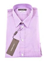 Dolce & GABANNA camisa manga larga para hombre Talla 40 Multi RRP £ 260 BCF82