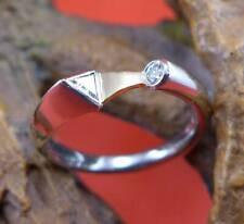 Außergewöhnlicher Diamant Brillant Ring in 950 Platin und 750 Gelbgold