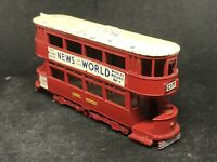 Matchbox Yesteryear Y3 A14 1907 London 'E' Class Tramcar