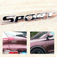 Car Styling 3D Metal Chrome Logo Car Sticker SPORT Emblem Badge Door Decal