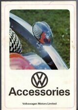 Volkswagen Accessories c1970 UK Market Brochure Beetle 1600 411 Transporter