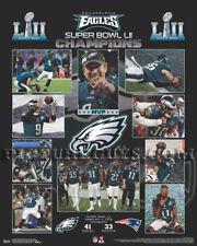 Philadelphia Eagles Super Bowl 52 Championship Picture Plaque
