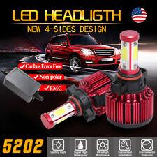 4Side 2504 5202 120W 32000LM Canbus EMC LED Headlight Kit Fog Light Bulb 6500K