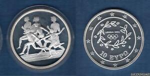Grèce 2003 10 Euro Course de Relais Jeux Olympiques été Athénes 2004 - Greece