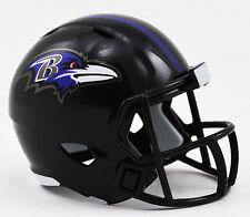 NUOVO NFL Football Americano RIDDELL velocità Pocket Pro CASCO Baltimore Cornacchie