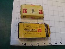 vintage unused Film C126-20 expired 1977 open box but sealed inside KODACOLOR II