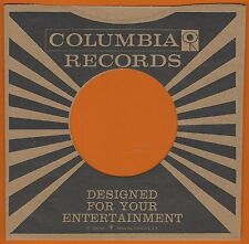 COLUMBIA REPRODUCTION RECORD COMPANY SLEEVES - (pack of 10)