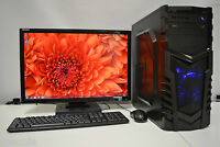 """PC SET 21.5"""" Full HD TFT Quad i5-3470 3.2GHZ 8 GB 1TB 4GB GDDR5 GTX 1050Ti WIN7"""