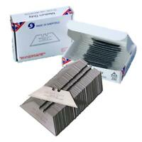 200 x CARPET CUTTING KNIFE BLADES DOLPHIN DELPHIN HEAVY DUTY MADE IN SHEFFIED