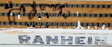 Hartford Whalers Autographed Signed Ranheim Hockey Stick
