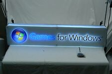 Games For Windows Light Up Store Display Sign
