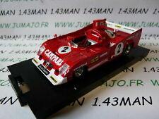 BR5H 1/43 BRUMM boite rigide : ALFA ROMEO 33TT12 1000 km Spa 1975 Pescarolo