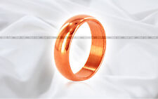 Copper Astrology Ring India Sun Surya Tamba Solid Band Size US 2