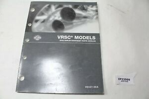 2006 V-Rod VRSC Harley parts catalog 99457-06 WOW!!!!!!!!!! book manual EPS23509