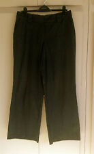 Viscose Low Rise Trousers for Women