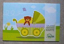 Geschenkkarte, Gutscheinkarte , Galeria Kaufhof, 2012, neu, leer