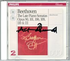 Alfred BRENDEL Signed BEETHOVEN Piano Sonata 27 28 29 30 31 32 Hammerklavier 2CD