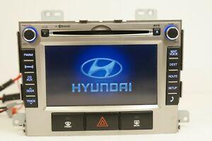 10 11 12 Hyundai Sante FE Radio CD Player Navigation Stereo OEM 96560-0W020BS