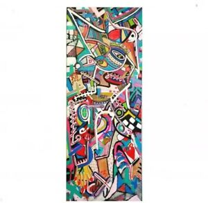 EXPRESSIONISM ABSTRACT ART CANVAS COLOFUL POP ART CONTEMPORARY MODERNIST DECOR