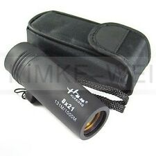 8 x 21 Clear Monocular Telescope For Sport Camping