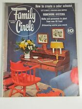 Everywoman's Family Circle- October 1960-MCM decor photos