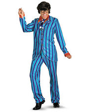 "Austin Powers Costume,XL,CHEST 42-46"",WAIST 38-42"",INSEAM 32"",HEIGHT 5'9""-5'11"