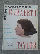 Film Careers Magazine- ELIZABETH TAYLOR - Premier issue 1963