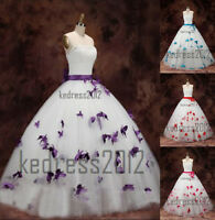 New Arrival Butterfly Hot Wedding Dress Bridal Gown Size6-8-10-12-14-16-18-20-22