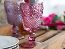 Katie Alice Highland Fling Pink Glass Goblet