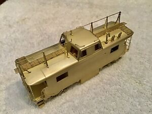 Alpha Brass PRR Caboose N-8 HO Scale With Antenna