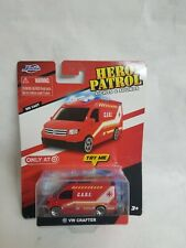 Jada Toys Hero Patrol Lights & Sound Red VW Crafter Die Cast Ambulance NEW