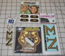 SIGMA NU LOT Oak & Walnut Wood Decoration, Key Tag, Eye Black & Car stickers