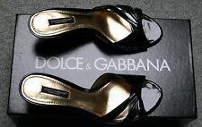 Dolce & Gabbana Sommerschuhe schwarz, Gr. 36, 1,2 x getragen