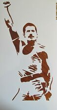 Freddie Mercury Large Stencil/Template Reusable 10 mil Mylar