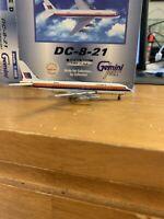Gemini Jets United Airlines DC-8-21 N8005U Saul Bass 1:400 Scale Model