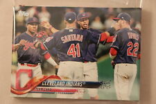 2018 Topps Series 1 and 2 Complete Team Set - Cleveland Indians