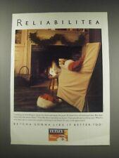 1991 Tetley Tea Ad - Reliabiitea