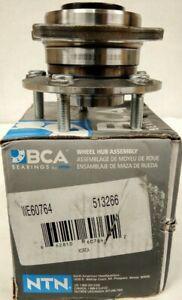 NEW NTN ~ BCA ~ Wheel Bearing and Hub Assembly Rear,Front  Bearing - WE60764