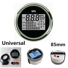 Universal Car SUV Truck 85mm Waterproof GPS Digital Speedometer Odometer Gauge