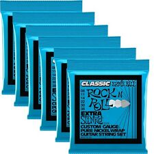 6 Sets of Ernie Ball 2255 Classic Pure Nickel Extra Slinky Electric Guitar Strin