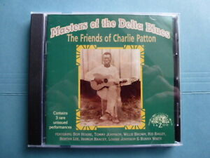 Masters Of The Delta Blues - The Friends Of Charlie Patton - YAZOO CD - NM