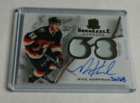 R11,889 - MIKE HOFFMAN - 2015/16 THE CUP - HONORABLE DUAL AUTO PATCH - #/68