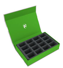 Feldherr Magnetbox grün für 16 Blood Bowl Miniaturen - 2016 Version