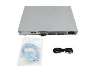 EMC DS-300B Brocade 300 24 Port-8 Active Fibre Channel Switch 100-652-065 8 SFPs