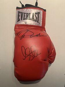 Canelo Alvarez & Liam Smith Signed Glove from their 2016 Fight; Golden Boy COA
