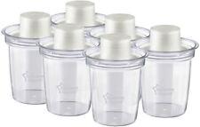 Tommee Tippee CLOSER TO NATURE 6 Travel Formula Dispenser Bottle Feeding New