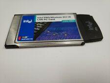 Intel Pro Wireless 2011B Lan Pc Card Pcmcia 802.11b 2.4Ghz 11Mbps Wpc2011Ww