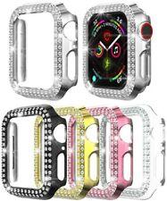 5 packs of Apple Watch 6/SE/5/4 series crystal diamond case 38/42/40/44mm
