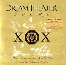 Dream Theater Score 20th Anniversary World Tour 4 X 180gm Vinyl LP Set MOV